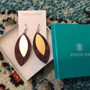 NWT Marlyn Schiff for Stitch Fix Earrings
